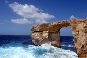 Azure Window auf Malta